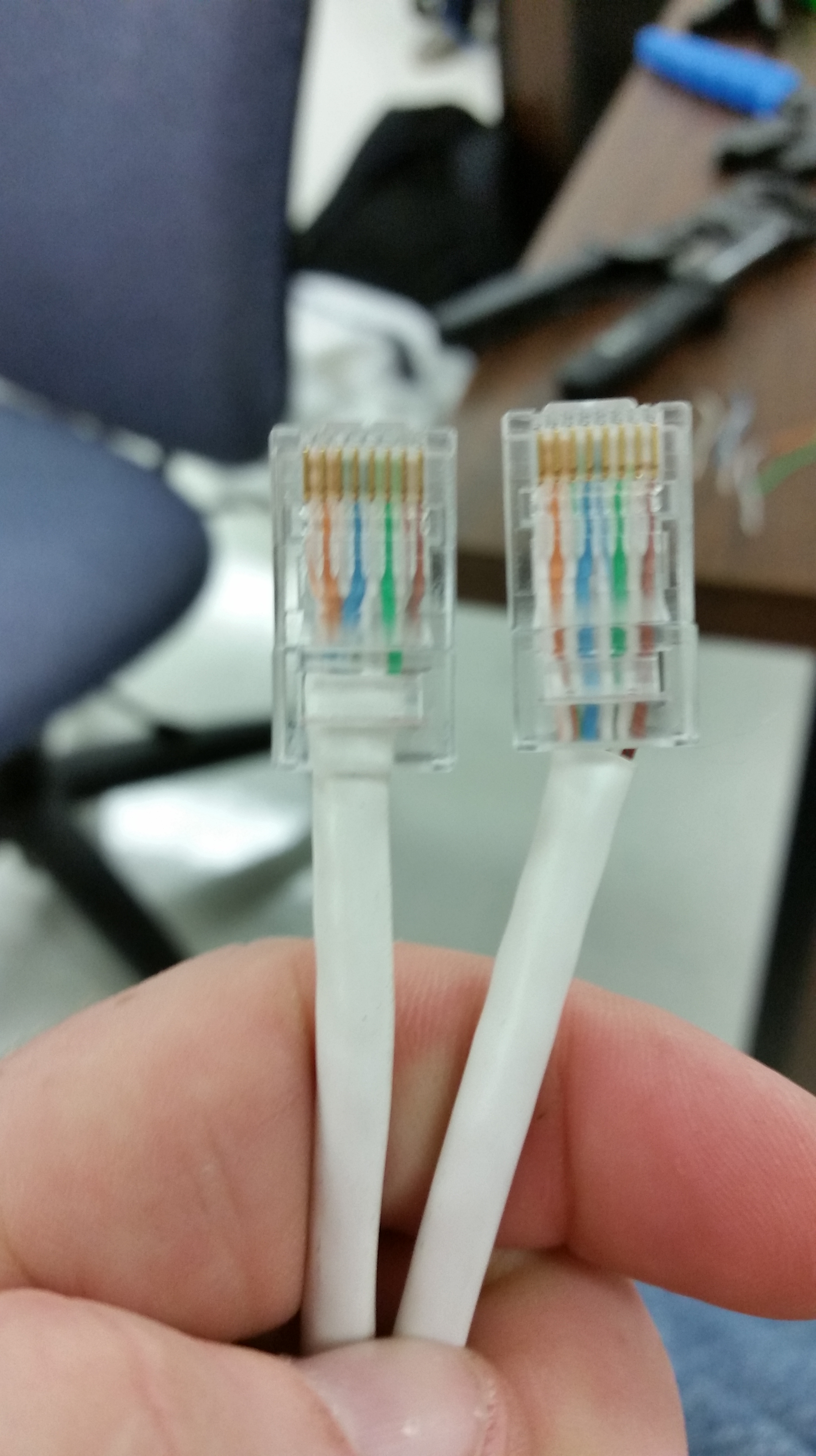 Lab 2 Networking Cables Nassinetworking T568a And T568b Wiring Standards Besides Rj45 Crossover Cable Diagram 20140912 103803